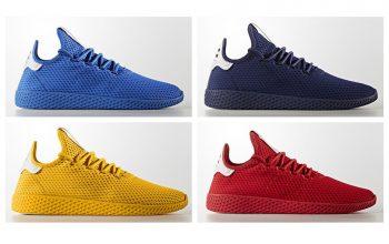 Pharrell x adidas Tennis HU Solid Pack
