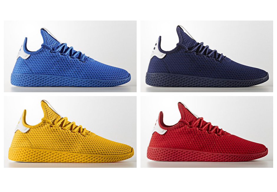 ef7ac5f1d Pharrell x adidas Tennis HU Solid Pack Release Date – Fastsole