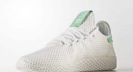 Pharrell x adidas Tennis HU White Green OG BY8717 Buy adidas NMD Nike Jordan VoporMax Sneakers Trainers in UK EU DE Europe Germany for Man & Women FastSole 01