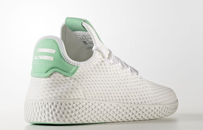 Pharrell x adidas Tennis HU White Green OG BY8717 Buy adidas NMD Nike Jordan VoporMax Sneakers Trainers in UK EU DE Europe Germany for Man & Women FastSole 04