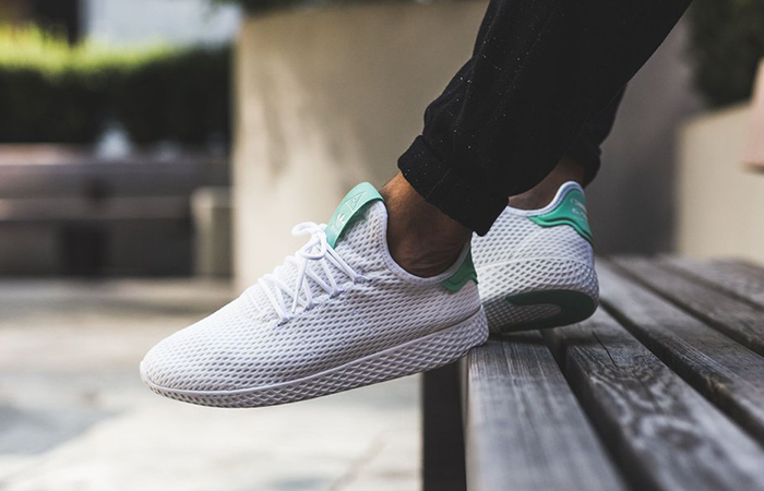 Pharrell x adidas Tennis HU White Green OG BY8717 Buy adidas NMD Nike Jordan VoporMax Sneakers Trainers in UK EU DE Europe Germany for Man & Women FastSole 06