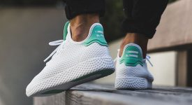 Pharrell x adidas Tennis HU White Green OG BY8717 Buy adidas NMD Nike Jordan VoporMax Sneakers Trainers in UK EU DE Europe Germany for Man & Women FastSole 07