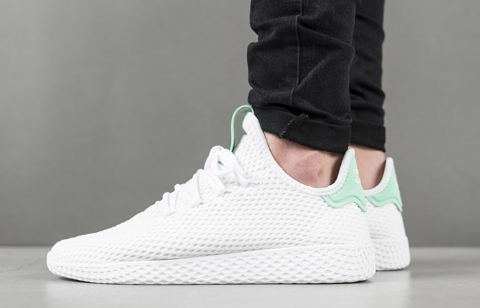 Pharrell x adidas Tennis HU White Green OG BY8717 Buy adidas NMD Nike Jordan VoporMax Sneakers Trainers in UK EU DE Europe Germany for Man & Women FastSole 08