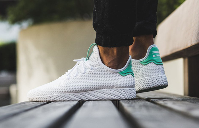 Pharrell x adidas Tennis HU White Green OG BY8717 Buy adidas NMD Nike Jordan VoporMax Sneakers Trainers in UK EU DE Europe Germany for Man & Women FastSole 09
