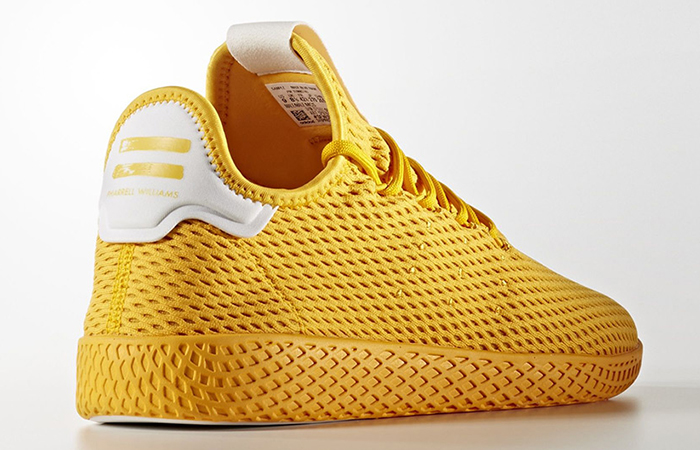 Pharrell x adidas Tennis HU Yellow Solid Pack 01