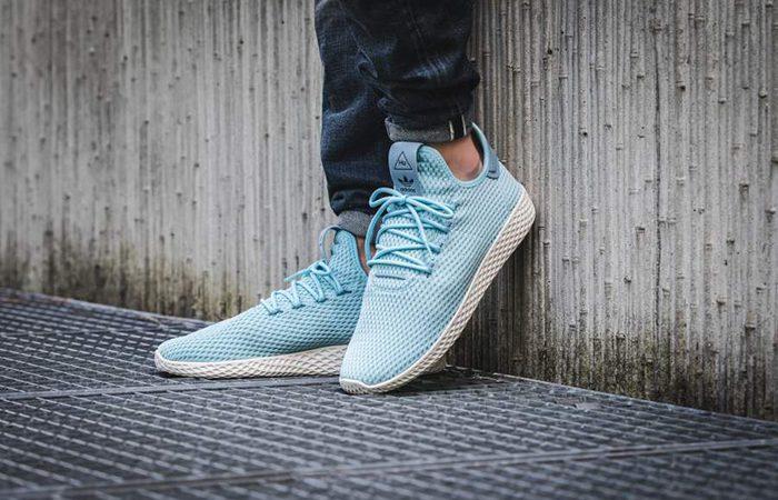 Pharrell x adidas Tennis Hu Blue CP9764 Buy adidas NMD Nike Jordan VoporMax Sneakers Trainers in UK EU DE Europe Germany for Man & Women FastSole 01