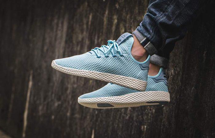 Pharrell x adidas Tennis Hu Blue CP9764 Buy adidas NMD Nike Jordan VoporMax Sneakers Trainers in UK EU DE Europe Germany for Man & Women FastSole 03