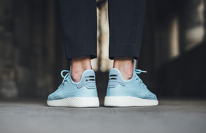 Pharrell x adidas Tennis Hu Blue CP9764 Buy adidas NMD Nike Jordan VoporMax Sneakers Trainers in UK EU DE Europe Germany for Man & Women FastSole 05
