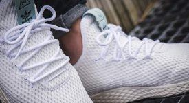 Pharrell x adidas Tennis Hu Green BY8716 Buy adidas NMD Nike Jordan VoporMax Sneakers Trainers in UK EU DE Europe Germany for Man & Women FastSole 01