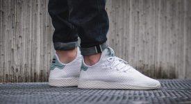 Pharrell x adidas Tennis Hu Green BY8716 Buy adidas NMD Nike Jordan VoporMax Sneakers Trainers in UK EU DE Europe Germany for Man & Women FastSole 02
