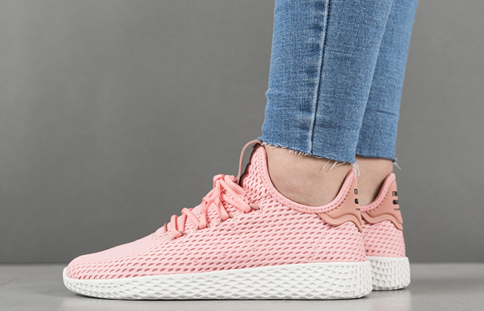 Pharrell x adidas Tennis Hu Pink BY8715 Buy adidas NMD Nike Jordan VoporMax Sneakers Trainers in UK EU DE Europe Germany for Man & Women FastSole 05