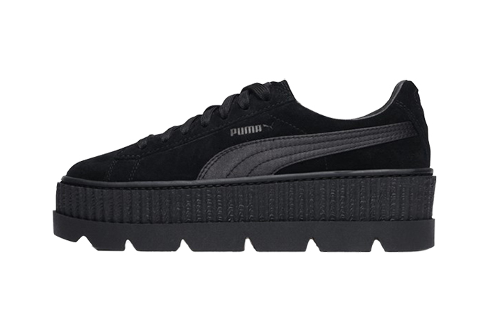 check out 784c3 58c0a Puma x Fenty Cleated Creeper Suede Black – Fastsole
