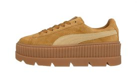 Puma x Fenty Cleated Creeper Suede Brown 366268-02 Buy adidas NMD Nike Jordan VoporMax Sneakers Trainers in UK EU DE Europe Germany for Man and Women 01