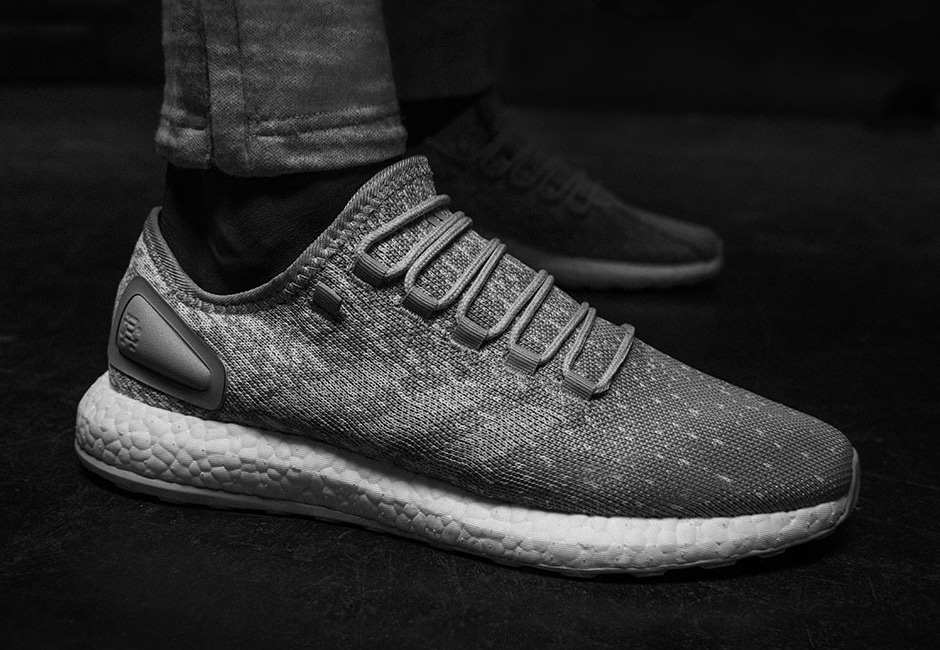 Reigning Chamo x adidas Pureboost and alphabounce 01