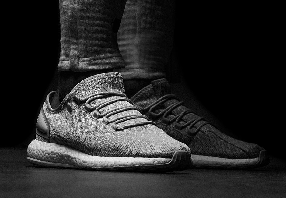 Reigning Chamo x adidas Pureboost and alphabounce