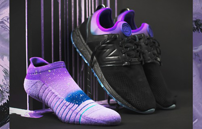 Stance x New Balance 247 All Day All Night Black MRL247ST Buy adidas NMD Nike Jordan VoporMax Sneakers Trainers in UK EU DE 02
