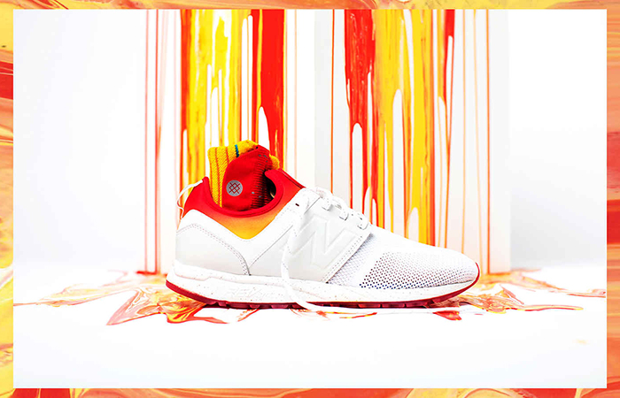 Stance x New Balance 247 All Day All Night White MRL247CO Buy adidas NMD Nike Jordan VoporMax Sneakers Trainers in UK EU DE 01