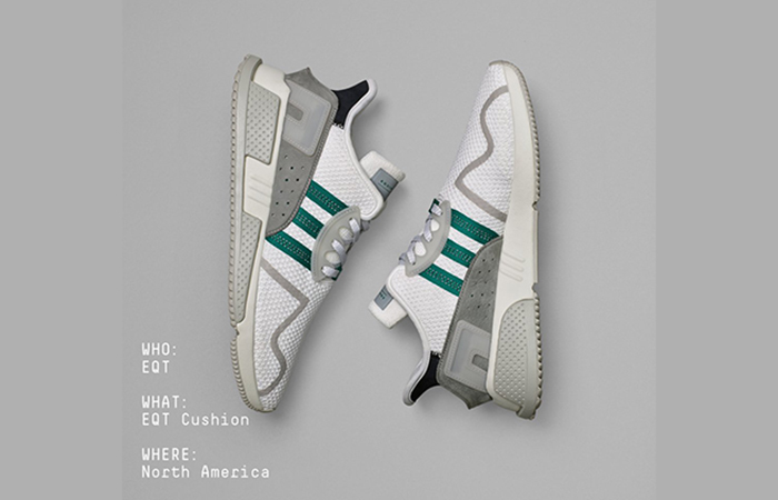 adidas EQT Cushion ADV North America CP9458 Buy adidas NMD Nike Jordan VoporMax Sneakers Trainers in UK EU DE Europe Germany for Man & Women FastSole 01