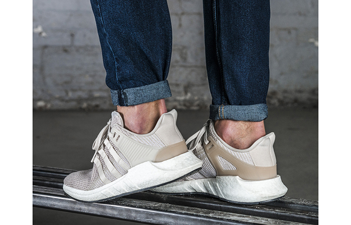 new product 93535 7a932 adidas EQT Support 93/17 Clear Brown FootLocker Exclusive
