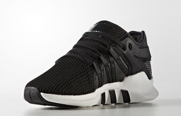 new product d06c8 d453c adidas EQT Support ADV Black Stripes Womens