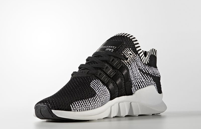 wholesale dealer 6f1df 1be9a adidas EQT Support ADV PK Black Stripes