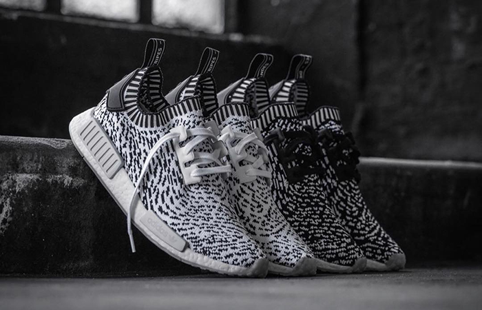 Adidas NMD R1 Glitch Core Black Camo in size 13 for sale · Slang
