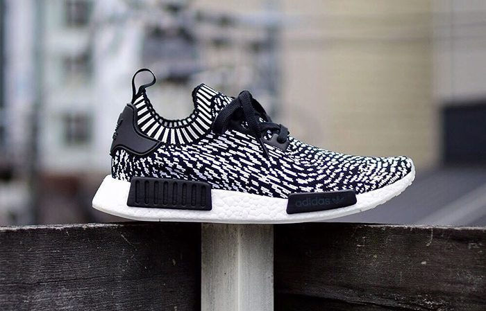 adidas NMD R1 Zebra Pack Black White BZ0219 BY3013 Buy Nike NMD adidas Jordan Sneakers Trainers FOR Man Women in UK Europe EU DE FastSole 02