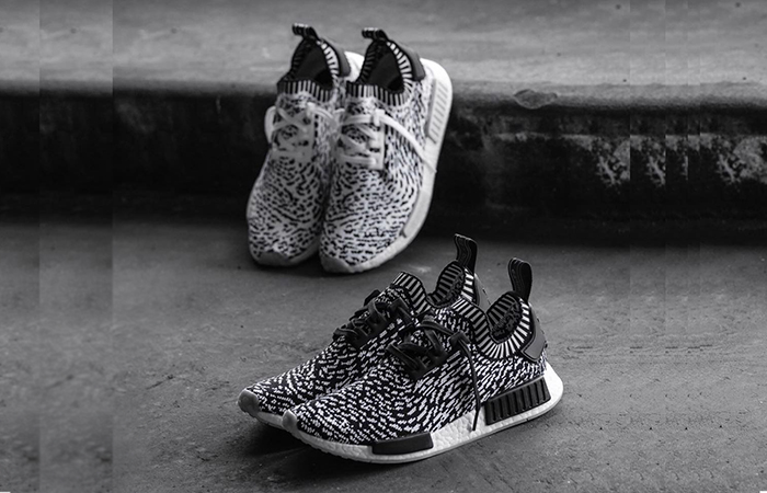 adidas NMD R1 Zebra Pack Black White BZ0219 BY3013 Buy Nike NMD adidas Jordan Sneakers Trainers FOR Man Women in UK Europe EU DE FastSole 04