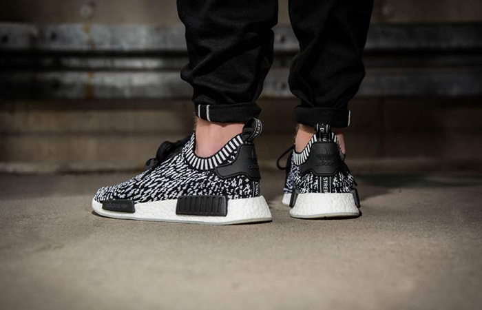 adidas NMD R1 Zebra Pack Black White BZ0219 BY3013 Buy Nike NMD adidas Jordan Sneakers Trainers FOR Man Women in UK Europe EU DE FastSole 07