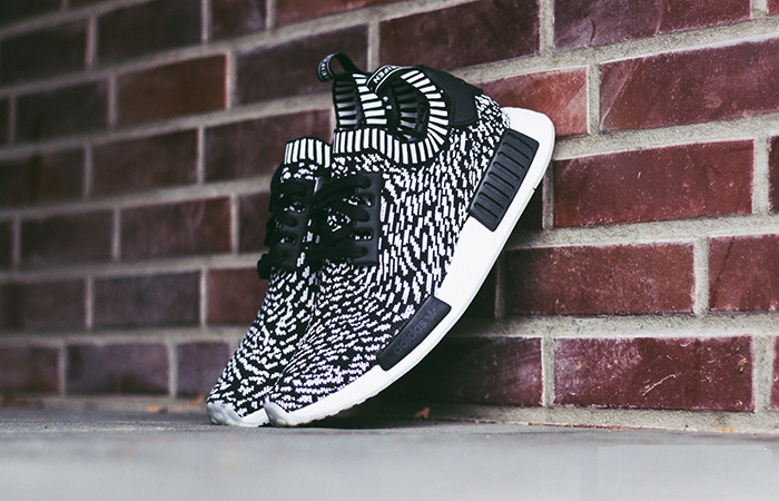 Adidas Boost NMD R1 PK Winter Wool BB0679 Core Black Primeknit