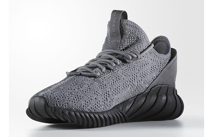 the latest 10e28 f400e adidas Tubular Doom Sock Grey