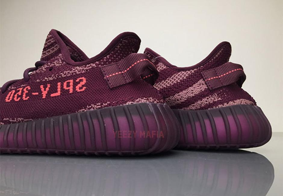 adidas Yeezy Boost 350 V2 Red Night 03