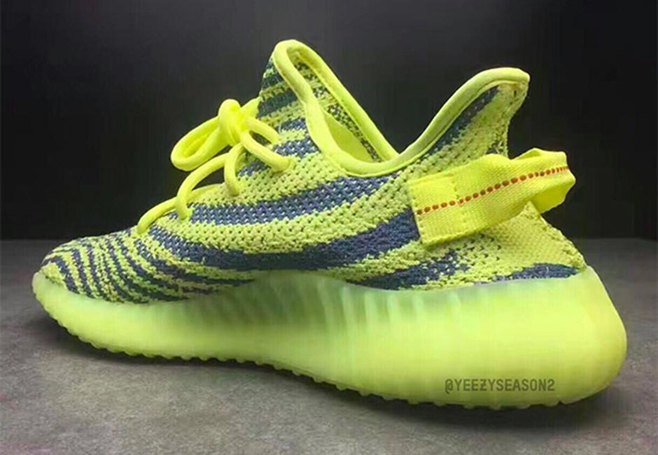 adidas Yeezy Boost 350 V2 Semi Frozen Yellow 03