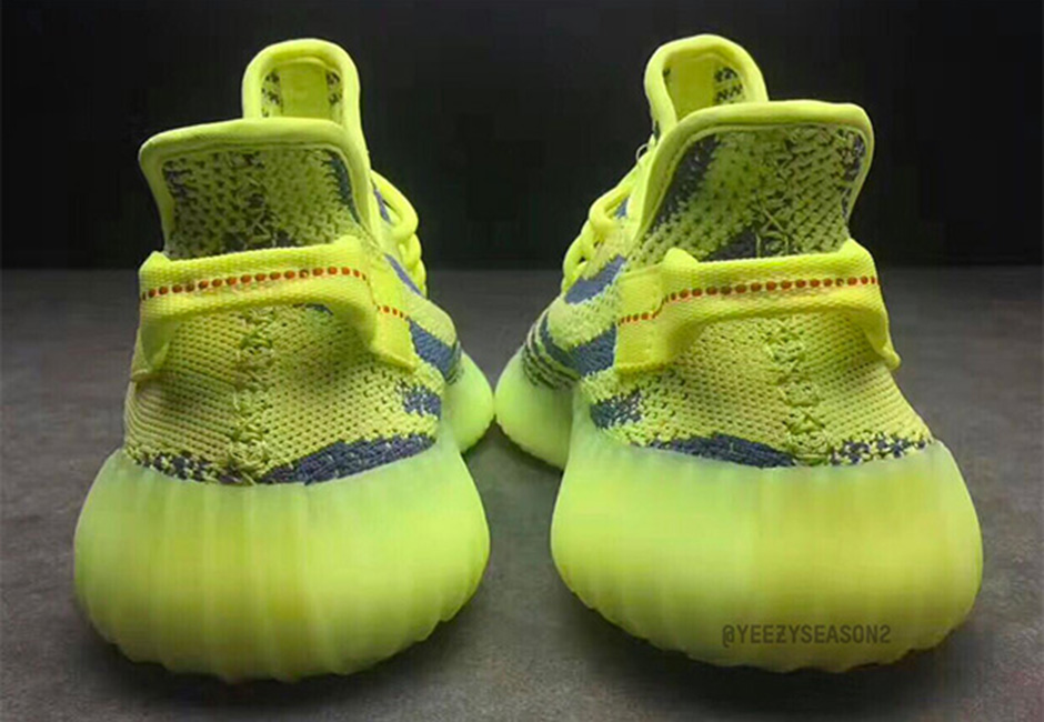 adidas Yeezy Boost 350 V2 Semi Frozen Yellow 04