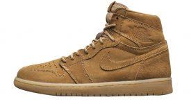 Air Jordan 1 Wheat Golden Harvest 555088-710