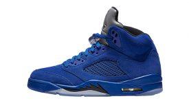 `Air Jordan 5 Blue Suede - 136027-401 shop 01