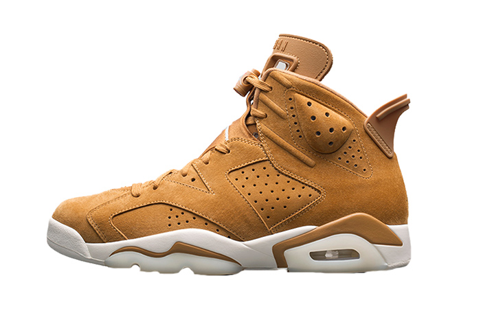 Air Jordan 6 Wheat Golden Harvest 384664-705
