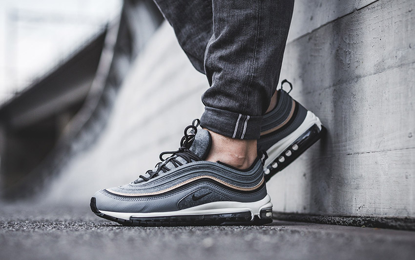 First Look at the Nike Air Max 97 Wool Grey Premium – Fastsole