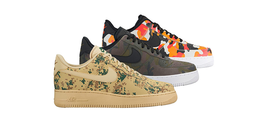 nike air force 1 low camo pack