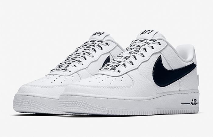 Nike Air Force 1 Low NBA Pack Statement Game White 823511 302