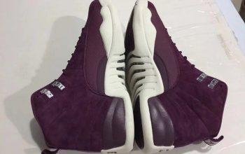 Nike Air Jordan 12 Bordeaux 08