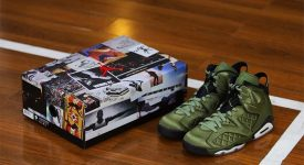 Nike Air Jordan 6 Pinnacle Flight Jacket - AH4614-303 04