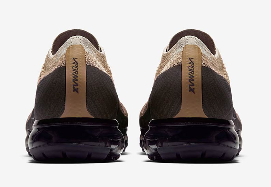Nike Air VaporMax Tan Black 04