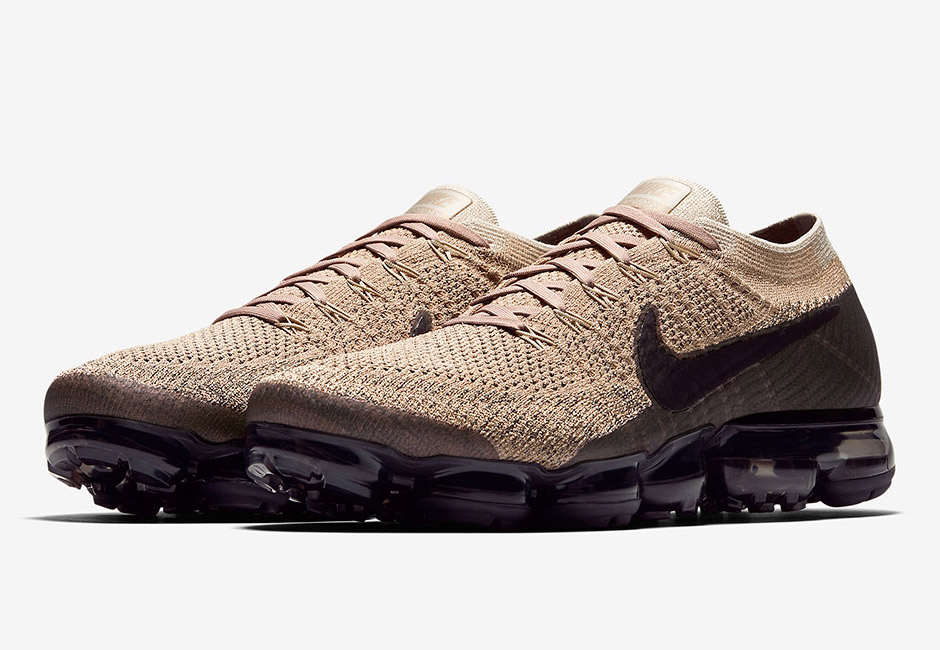 Nike Air VaporMax Tan Black