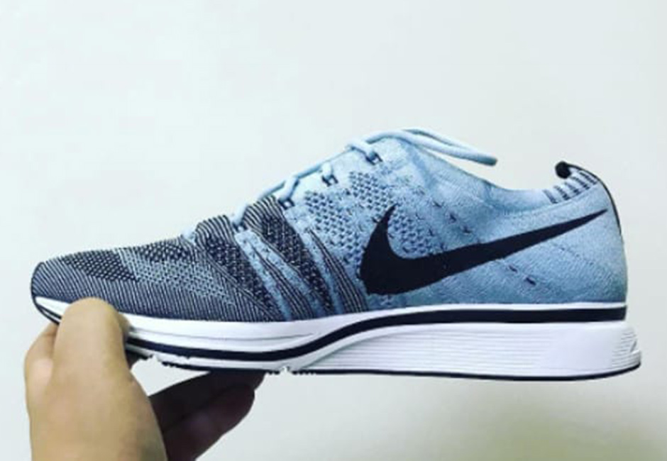 wholesale dealer 29cd6 ad20d Nike Flyknit Trainer Cirrus Blue Tint