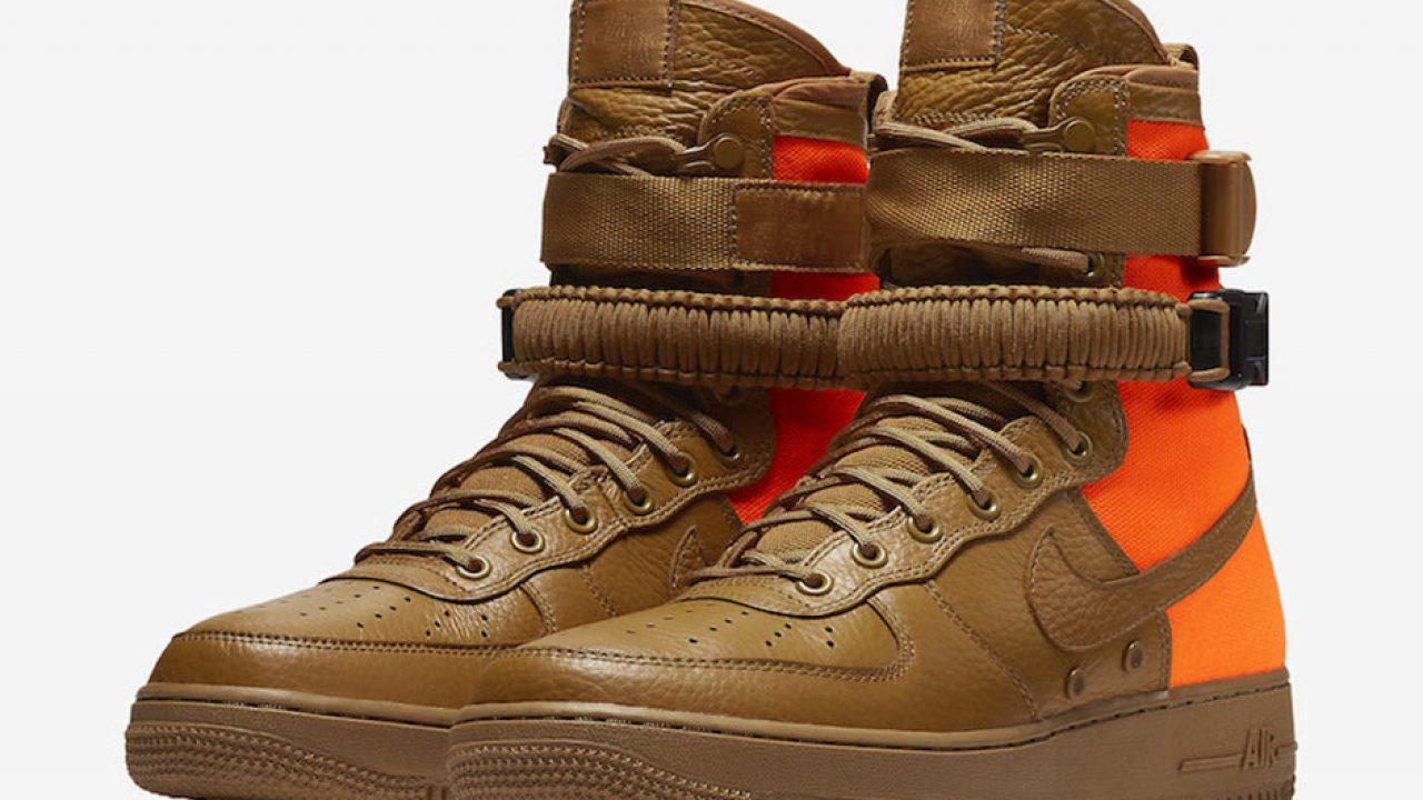 Nike SF Air Force 1 High Desert Ochre