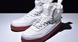 Nike Special Field Air Force 1 Mid Ivory Red 01