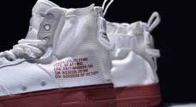 Nike Special Field Air Force 1 Mid Ivory Red 02