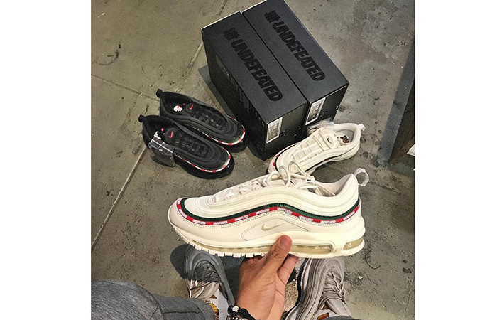 outlet store e740c a5605 Undefeated x Nike Air Max 97 White – AJ1986-100