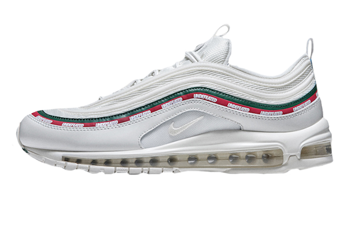 new style 50afa 1c126 ... Undefeated x Nike Air Max 97 White ...
